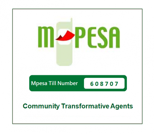 Donate via Mpesa Till Number